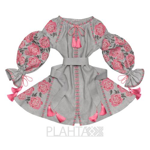 "Short dress with wedges ""Flower Temptation"""
