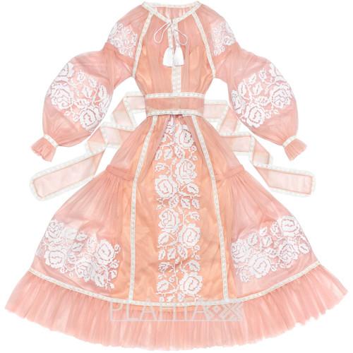 "Light tulle dress ""Rose Dreams"""