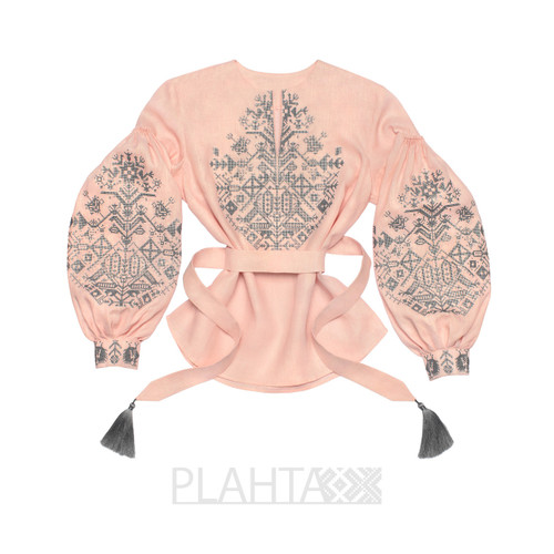 """Blouse with embroidery """"King-Bird"""""""
