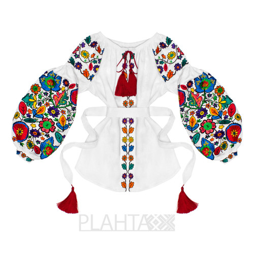 "Embroidered blouse ""Bukovyna Flowers"""