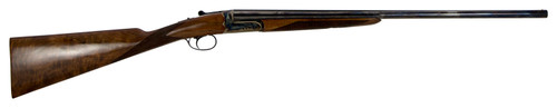 "Dickinson ST2826H ST Estate Side by Side 28 Gauge 26"" 3"" ST Turkish Walnut Stock Color Case Hardened"
