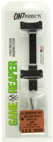 DNZ 58500 1-Pc Base & Ring Combo For Browning BAR-BLR Black Matte Finish 30mm Rings High
