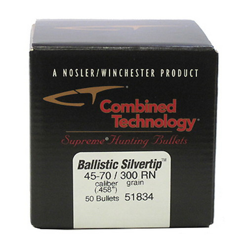 45-70 Government Ballistic Silvertip Hunting Bullets