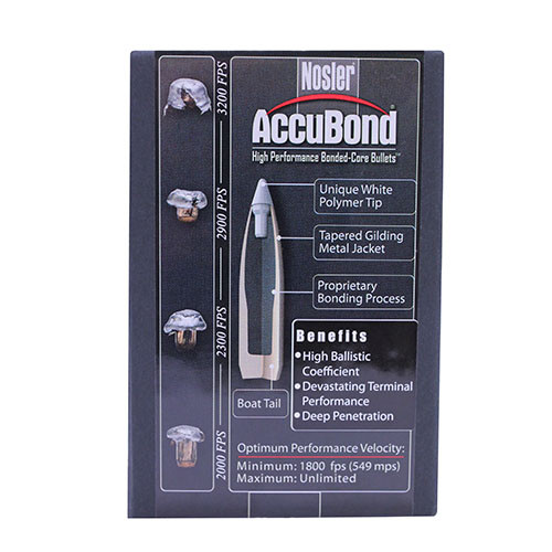 338 Caliber Bullets - AccuBond