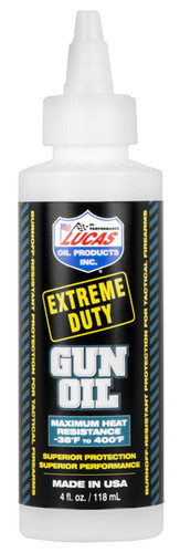 Lucas Extreme Duty Gun Oil 4 oz.