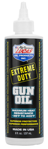 Lucas Extreme Duty Gun Oil 8 oz