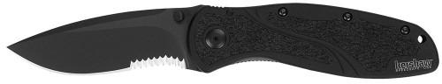 Kershaw Blur Pocket Knife Black Serrated