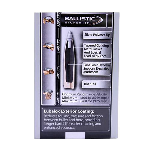 30 Caliber Bullets - Ballistic Silvertip Hunting
