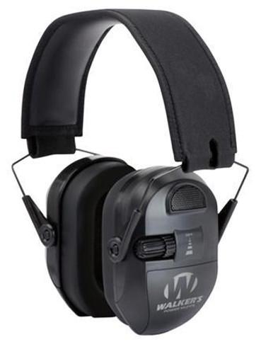 Walkers Game Ear Ultimate Power Muff Electronic Earmuff 26 dB Black