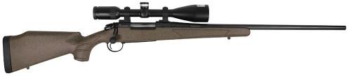 "Bergara Rifles B-14 Hunter Bolt Action 6.5 Creedmoor Centerfire Rifle w/ 22"" Blued Barrel and Synthetic Green Stock"
