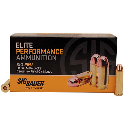 Sig Sauer Elite Ball 38 Special 125 GR Full Metal Jacket 50 Bx/ 20 Cs
