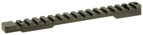 Talley PLM252700 Picatinny Rail with 20 MOA For Remington 700 Long Action Black Matte Finish
