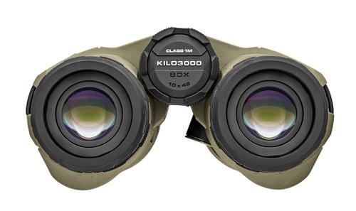 Front view SIG SAUER's BDX technology, the KILO3000 BDX is the world's most advanced laser rangefinder.