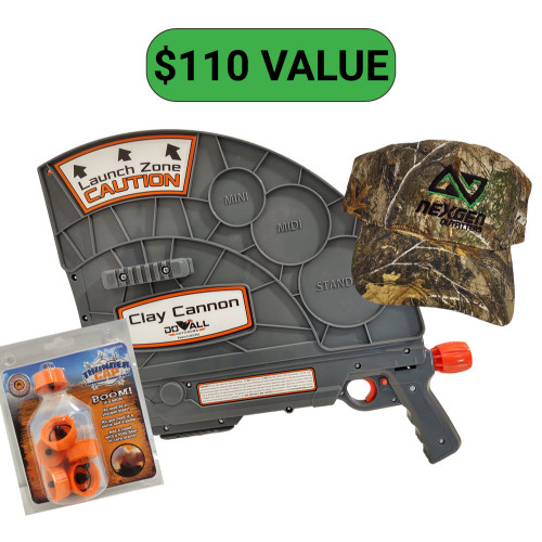 Do-All Outdoors Clay Cannon Package! $110 retail value