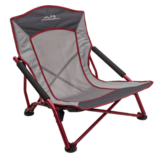 Alps Mountaineering Rendezvous Chair Charcoal Salsa