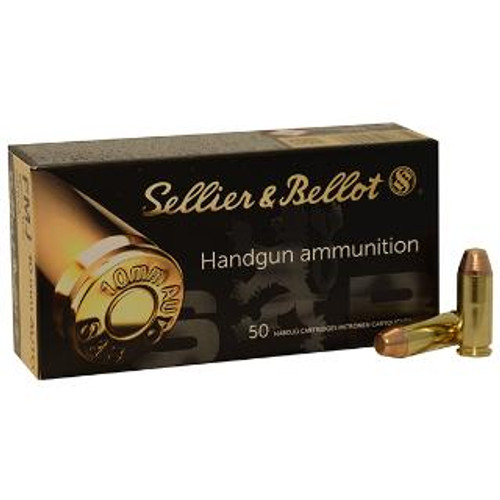Sellier & Bellot SB10A 10mm Auto 180gr Full Metal Jacket 50Rnd Handgun Ammunition