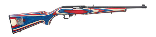Ruger 10/22 Team USA Takedown .22LR Red White & Blue Laminate Semi-Auto Rifle