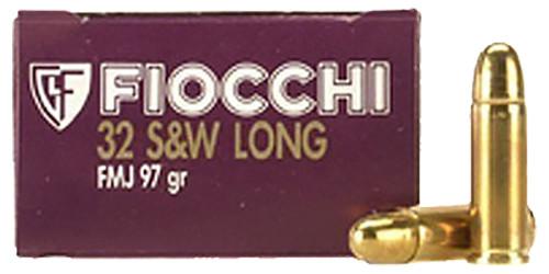 Fiocchi Training Dynamics .32 S&W Long 97  gr Full Metal Jacket Thumbnail