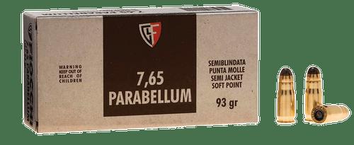 Fiocchi Defense Dynamics 7.65mm Parabellum 93  gr Semi Jacketed Soft Point Thumbnail