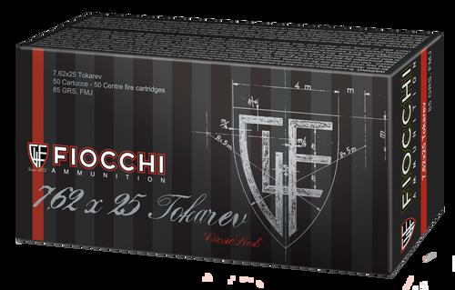 Fiocchi Training Dynamics 7.62x25mm Tokarev 85  gr Full Metal Jacket Thumbnail