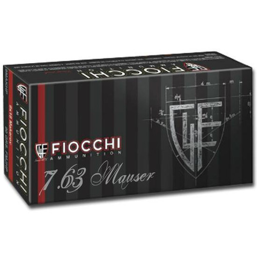 Fiocchi Training Dynamics 7.63 Mauser 88  gr Full Metal Jacket Thumbnail