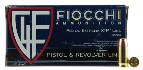 Fiocchi The Defender 7.65mm Browning 60  gr Extreme Terminal Performance Hollow Thumbnail