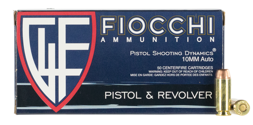 Fiocchi Training Dynamics 10mm Auto 180  gr FMJ Trunctated Cone Thumbnail