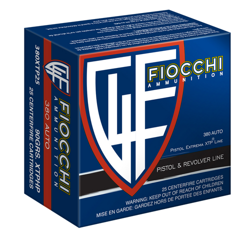Fiocchi The Defender .380 ACP 90  gr Extreme Terminal Performance Hollow Thumbnail