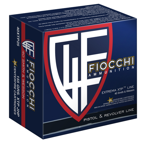 Fiocchi The Defender .40 S&W 155  gr Extreme Terminal Performance Hollow Thumbnail