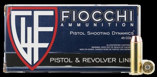 Fiocchi Training Dynamics .45 Long Colt 255  gr Copper Metal Jacket Flat Point Thumbnail