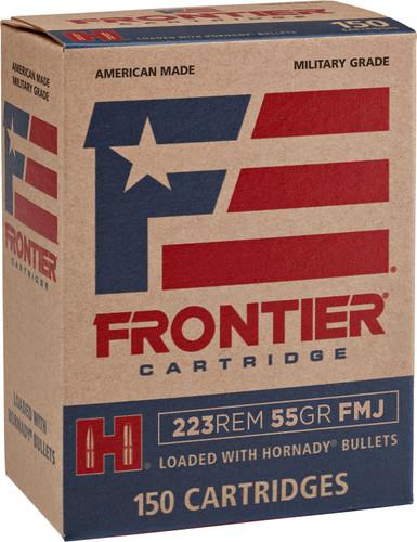 Frontier Cartridge .223 Remington 55gr Full Metal Jacket 150Rnd Rifle Ammunition
