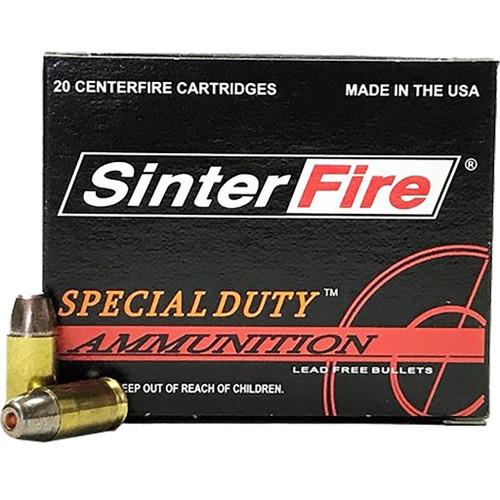 SinterFire Special Duty .380 ACP 75 gr Hollow Point 20rnd Handgun Ammo