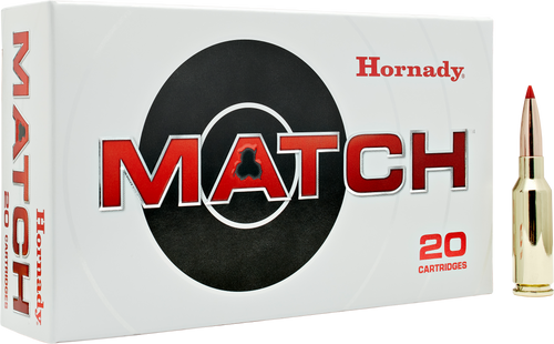 Hornady Match 6mm ARC 108 gr Extremely Low Drag-Match 20Rnds Rifle Ammo