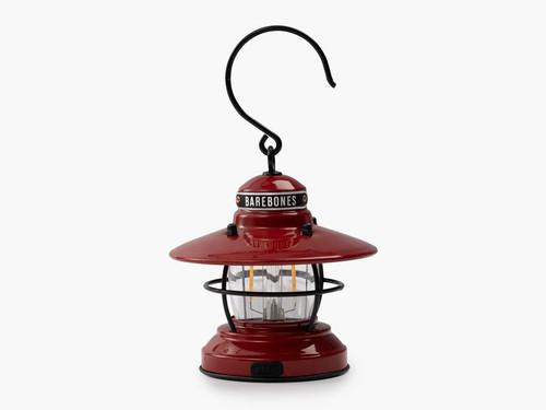 Barebones Edison Mini Lantern 3pk - Red