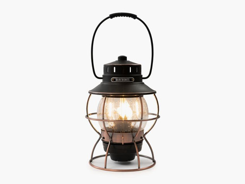 Barebones Railroad Lantern - Antique Bronze