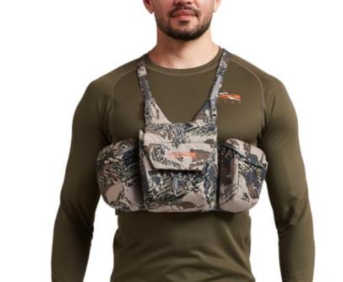 Sitka Mountain Optics Harness - Optifade Open Country - Sitka Binocular Harness