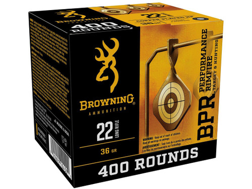 Browning 22LR 36Gr Plated Hollow Point 400Rnd