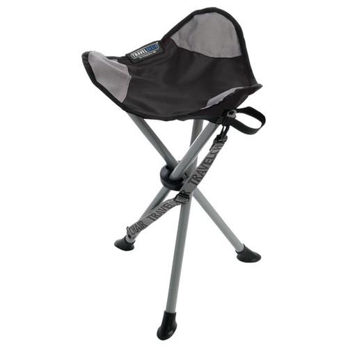 Travel Chair Slacker Stool Black