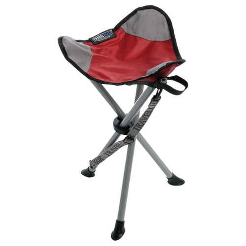 Travel Chair Slacker Stool Red