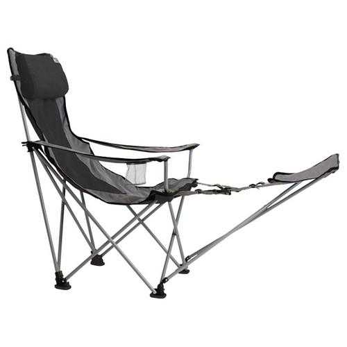 Travel Chair Big Bubba W/Footrest Black