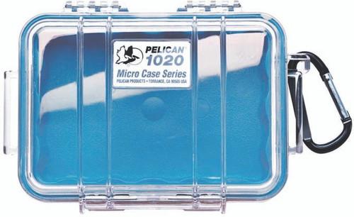 Pelican Micro Case 1020 Blue/Clear