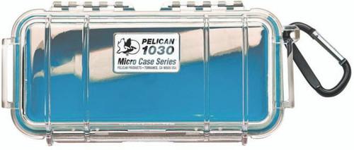 Pelican Micro Case 1030 Blue/Clear