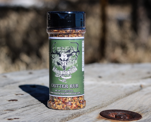 Critter Rub Seasoning