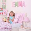 Lampshade - Pink Gingham