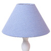 Lampshade - Blue Gingham
