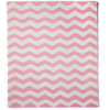 NEW Pink Large Chevron Rug