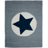 NEW Grey Large Star Rug
