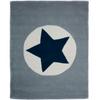 NEW Grey Large Star Rug