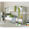 Oliver Grey Single Bunk Bed