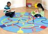 Colour Tubes Carpet